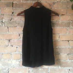 Minimum Black Sleeveless Blouse